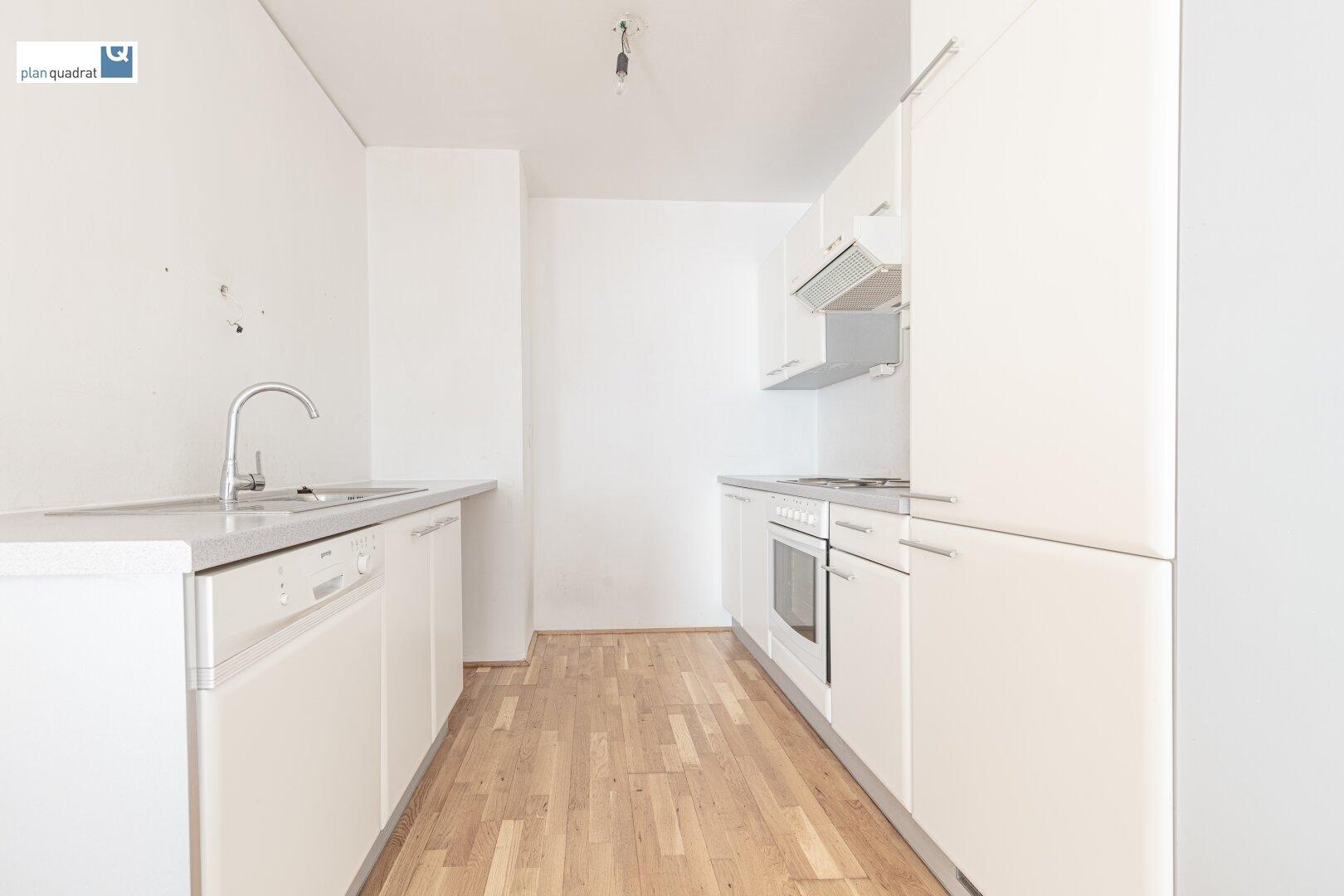 """""""Kochnische"""" mit Küchenzeile (ca. 6,00 m²)"""