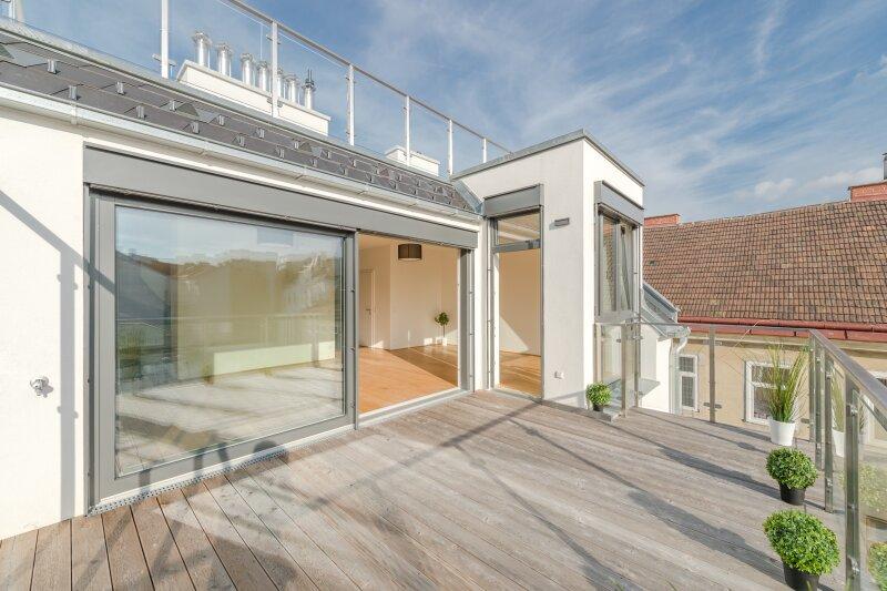 ++RARITÄT** Außergewöhnliche DG-MAISONETTE in TOP-CityLAGE! Altbaucharme + moderne Dachgeschosswohnung! Ruhelage! /  / 1020Wien / Bild 11