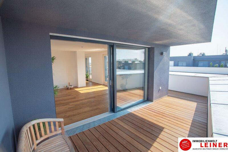 100 m² PENTHOUSE *UNBEFRISTET*BARRIEREFREI*Schwechat - 3 Zimmer Penthouse im Erstbezug mit 54 m² großer südseitiger Terrasse Objekt_9404 Bild_427