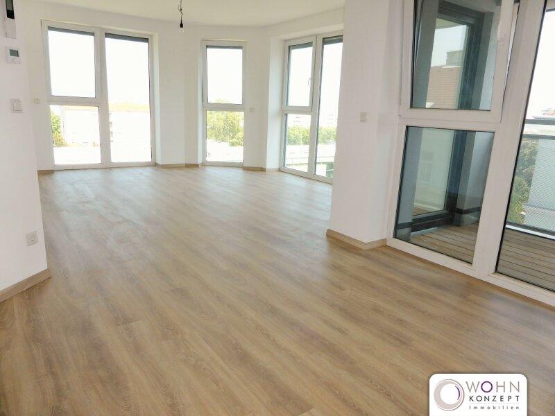 Erstbezug: klimatisierte 86m² DG-Wohnung mit Balkon - 1100 Wien