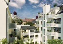Neue Wohntraum Top 6 im 1.Obergeschoß, 3 Zimmer, Erstbezugswohnung, 103,54 m² + 6,61 m² Balkon und 6,61 m² Terrasse im 18. Bezirk in der Nähe Währinger Schubertpark!