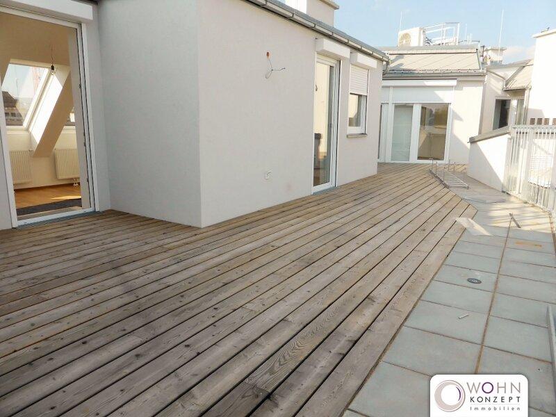 Erstbezug: 80m² Dachmaisonette + 23m² Terrasse mit Einbauküche - 1090 Wien /  / 1090Wien / Bild 2