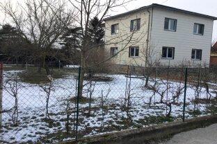 Ebenes 1000 m² Grundstück mit Althaus u. Erweiterungspotenzial Nähe U2 Aspern Nord