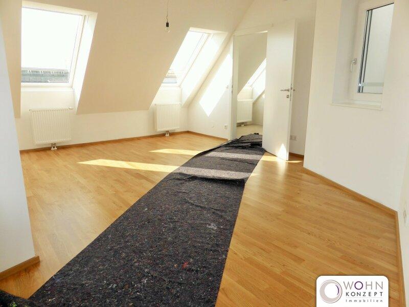 Erstbezug: 95m² Dachausbau + 10m² Terrasse mit Einbauküche - 1090 Wien /  / 1090Wien / Bild 0