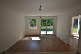 Neue 3 Zimmer-Wohnung im Grünen mit Eckgarten! Erstbezug!