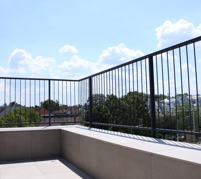 Traumhafte Dachterrassenwohnungen - Luxuserstbezug nach Ausbau - Garagenplatz direkt im Haus