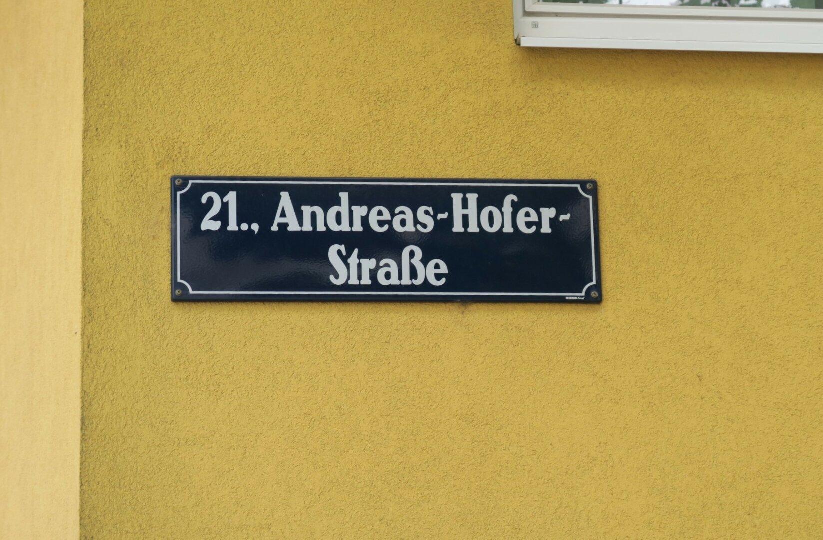 Nähe Andreas Hofer Strasse