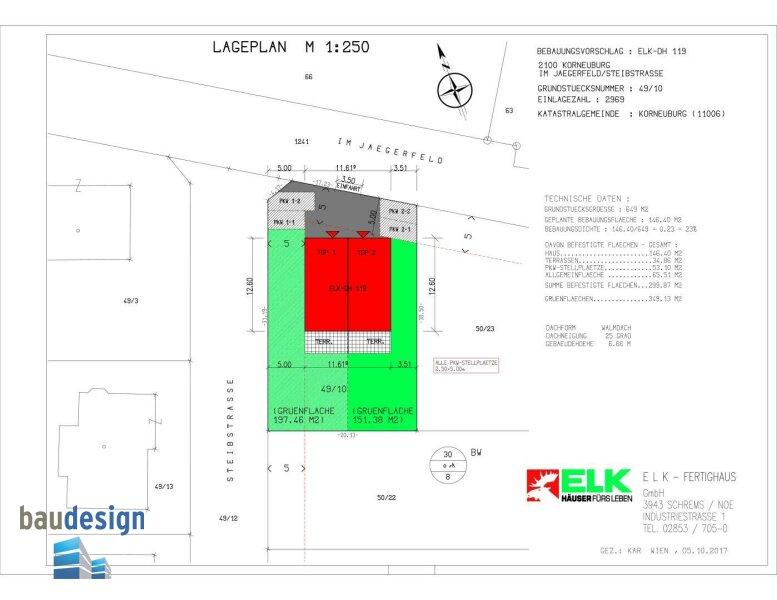 Korneuburg - exklusive Doppelhaushälfte auf Baurecht - NEUBAU /  / 2100Korneuburg / Bild 4