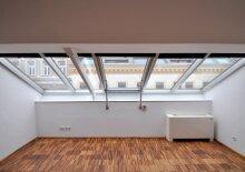 Helle, moderne Dachgeschosswohnung direkt beim Donaukanal und Citynähe