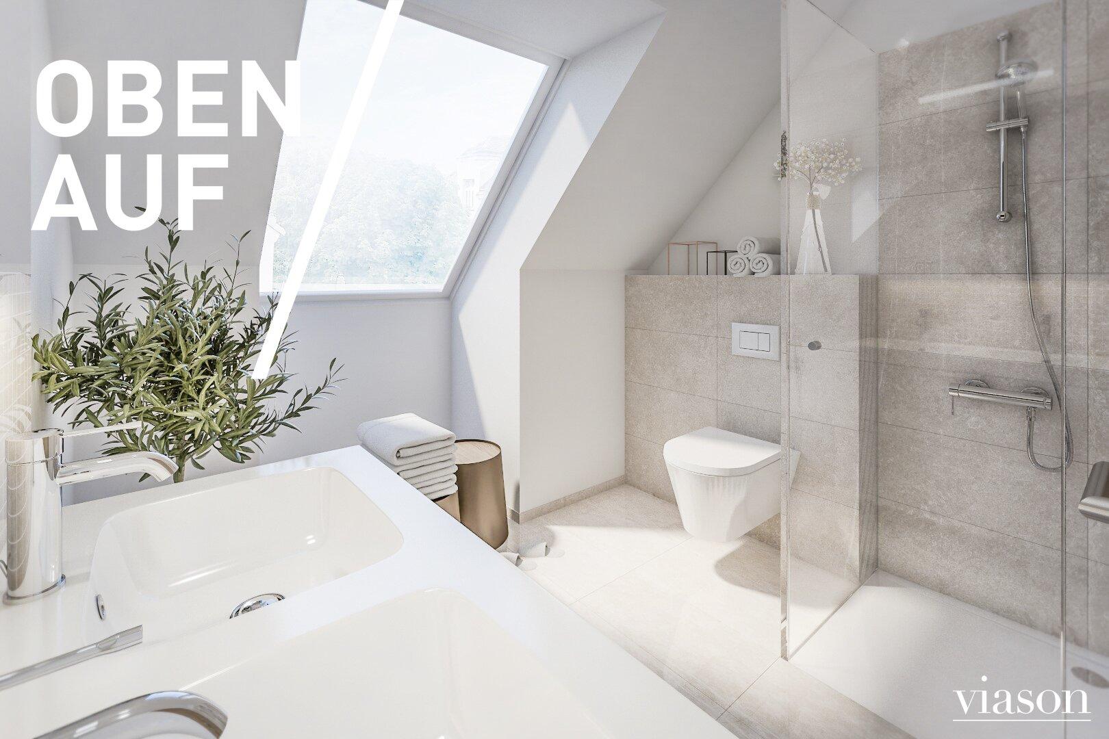 Beispielsvisualisierung Badezimmer