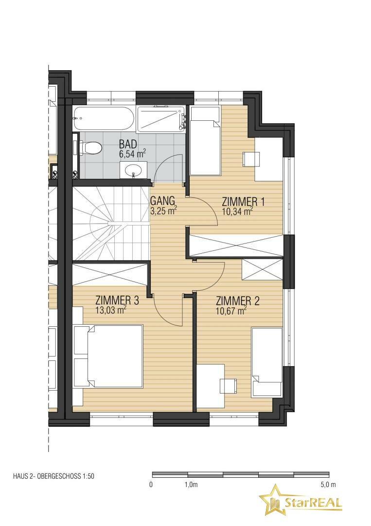Obergeschoss HAUS 2