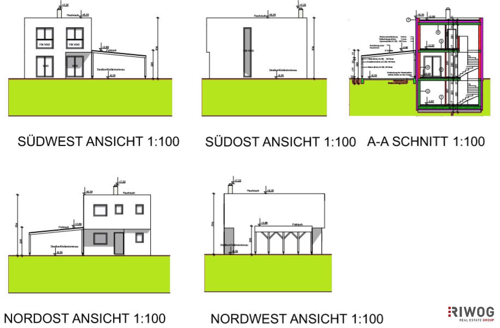 Modern Wohnen I faszinierendes Einfamilienhaus I top Raumaufteilung (Projektansicht)
