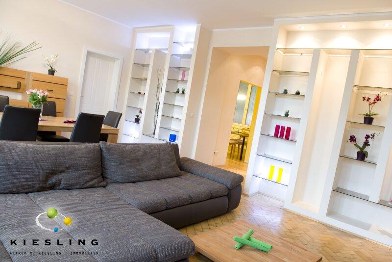 voll möblierte Wohlfühlfamilienwohnung in guter Lage mit eigenem Spa Bereich in der Wohnung (Sauna)! /  / 1130Wien / Bild 0