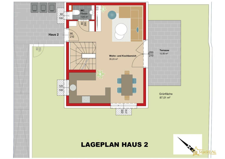 LAGEPLAN Haus 2