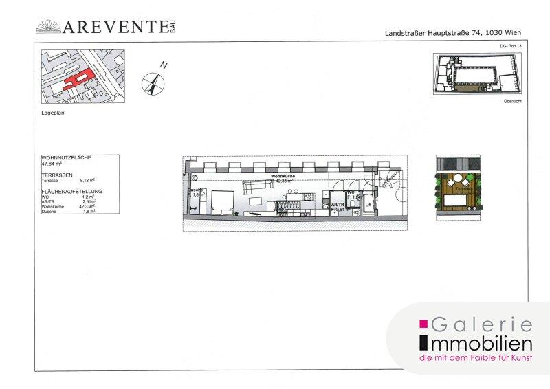 Luxus Apartment im Fernolendthaus beim Rochusmarkt Objekt_26790