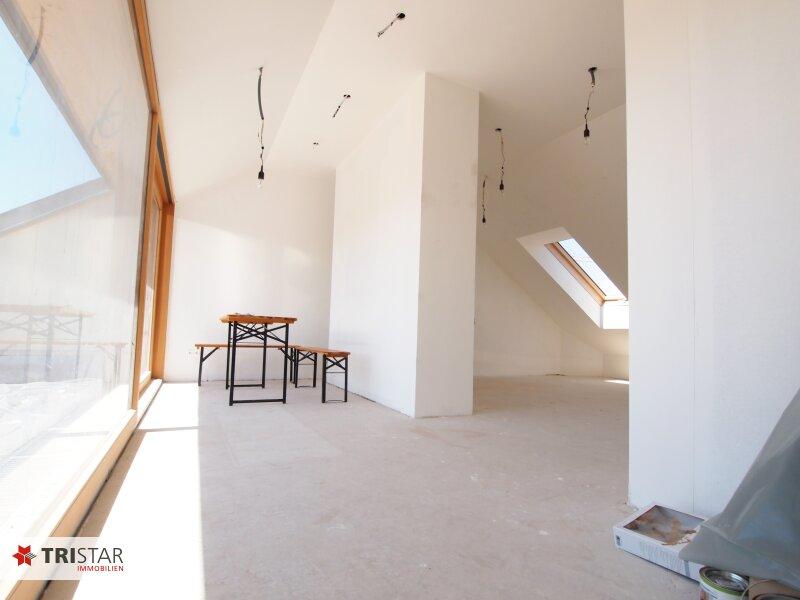 Hochwertig errichtete 3 Zimmer DG-Wohnung mit großer Wohnküche, Bad, separater Toilette und Terrasse, in wunderschöner Innenhofruhelage! /  / 1100Wien / Bild 8