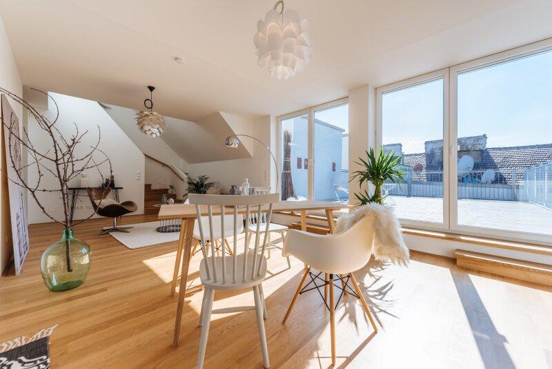++NEU** 4-Zimmer DG-ERSTBEZUG, 44m² Terrasse, Maisonette, tolle Ausstattung! **VIDEOBESICHTIGUNG**