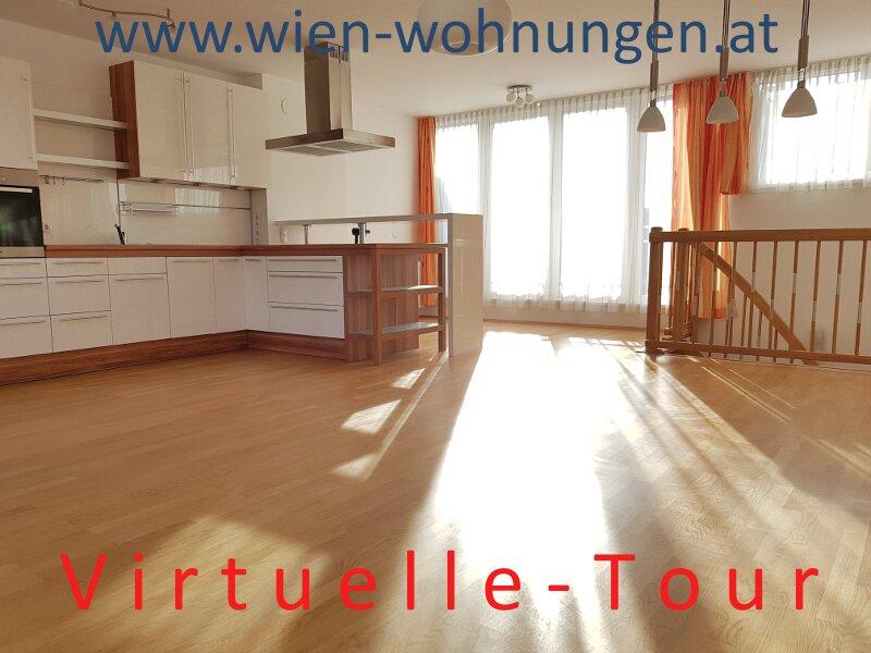 PROVISIONSFREIE Sehr helle Drei-Zimmer-Dachgeschoß-Maisonette mit Terrasse