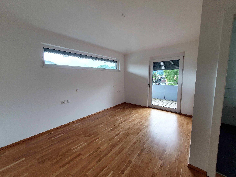 Schlafzimmer mit Terrassenzugang, Penthousewohnung, Kufstein
