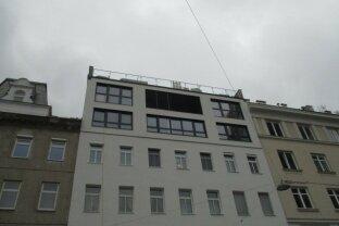Erstbezug 1 Zimmer Dachgeschoß mit Terrasse