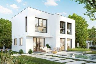 Langenzersdorf: Designer Einfamilienhaus an der Wiener Stadtgrenze - Mit 3D Besichtigung Demo