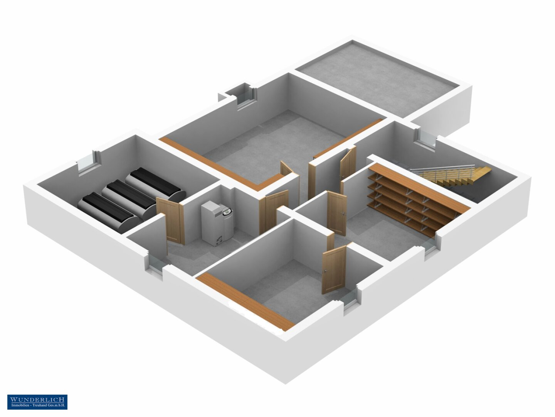 3D-Ansicht 1 Keller