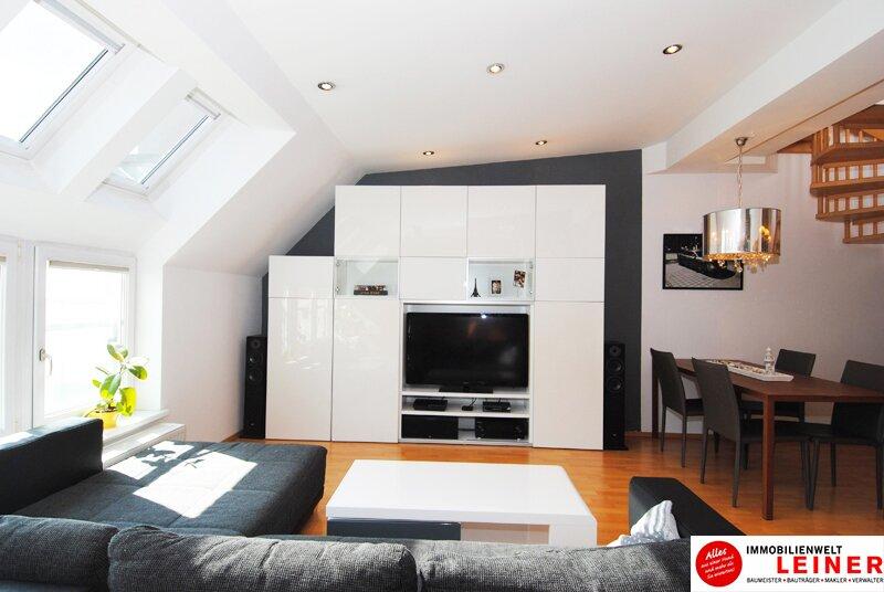 Schwechat - Beeindruckend Wohnen - Maisonette Penthouse Wohnung über den Dächern der Stadt Objekt_8955 Bild_810