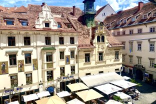 +++ CENTRAL OLD BUILDING OFFICE +++ Light-flooded 3-room office in the heart of Graz