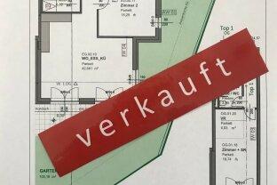 VERKAUFT! 4-Zimmer-Maisonette-Eigentumswohnung mit Garten, Balkon und 2 TG-Plätzen inkl.