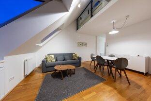 Exklusive Dachgeschosswohnung (2 Zimmer) + Dach-Terrasse + Klima im 10. Bezirk, Troststraße