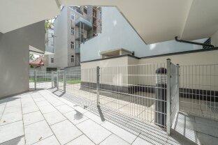 ruhige 3 Zimmer Neubauwohnung mit Terrasse trotz bester Stadtlage - ab sofort!