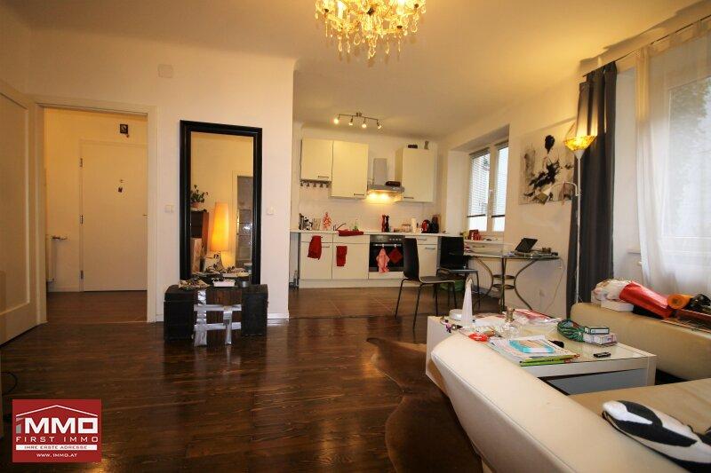 Schöne, hofseitige 2 Zimmer Wohnung!