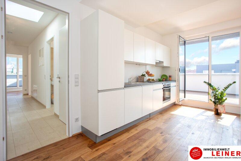 100 m² PENTHOUSE *UNBEFRISTET*BARRIEREFREI*Schwechat - 3 Zimmer Penthouse im Erstbezug mit 54 m² großer südseitiger Terrasse Objekt_9404 Bild_432