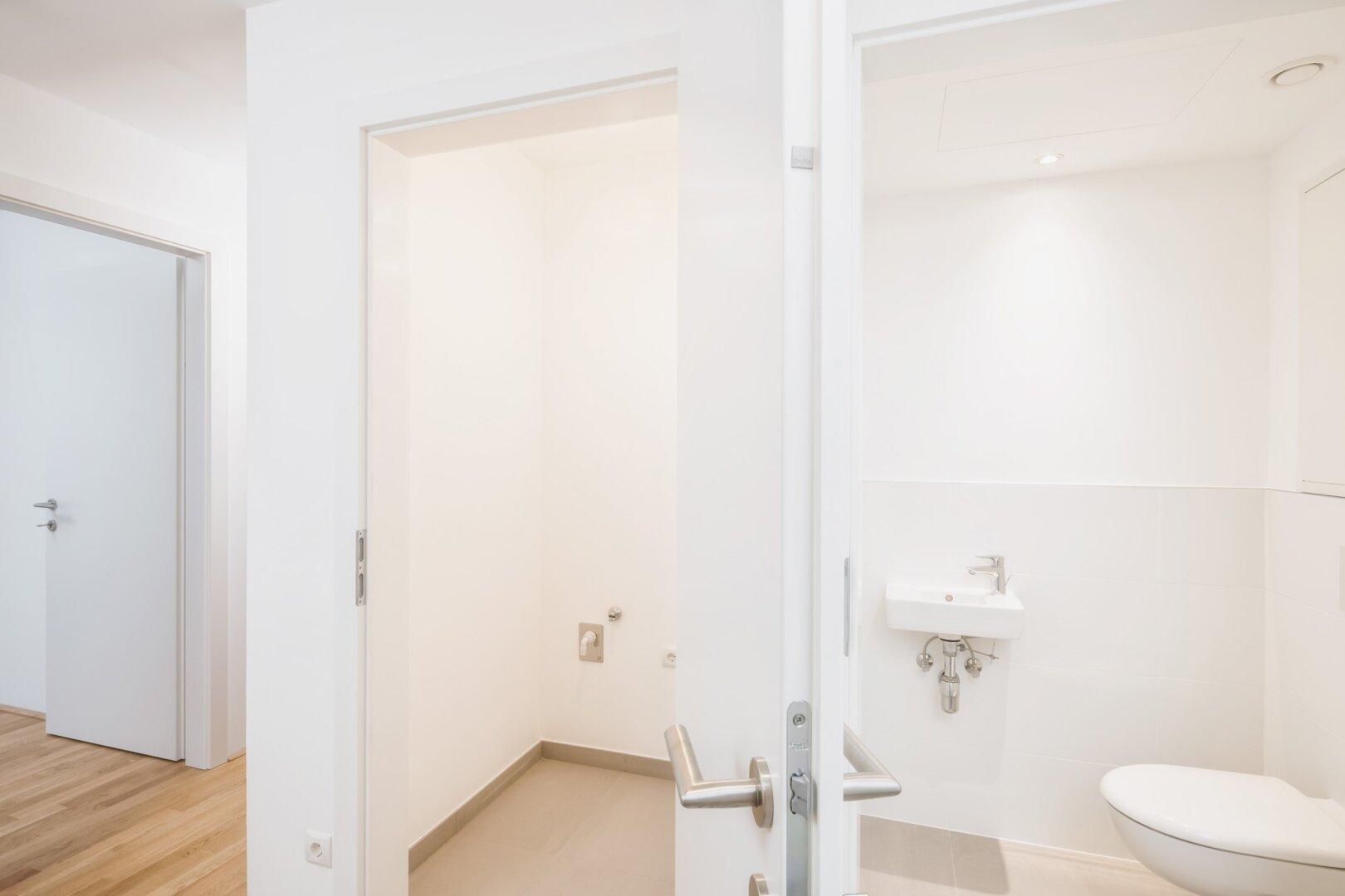 WC und Abstellraum