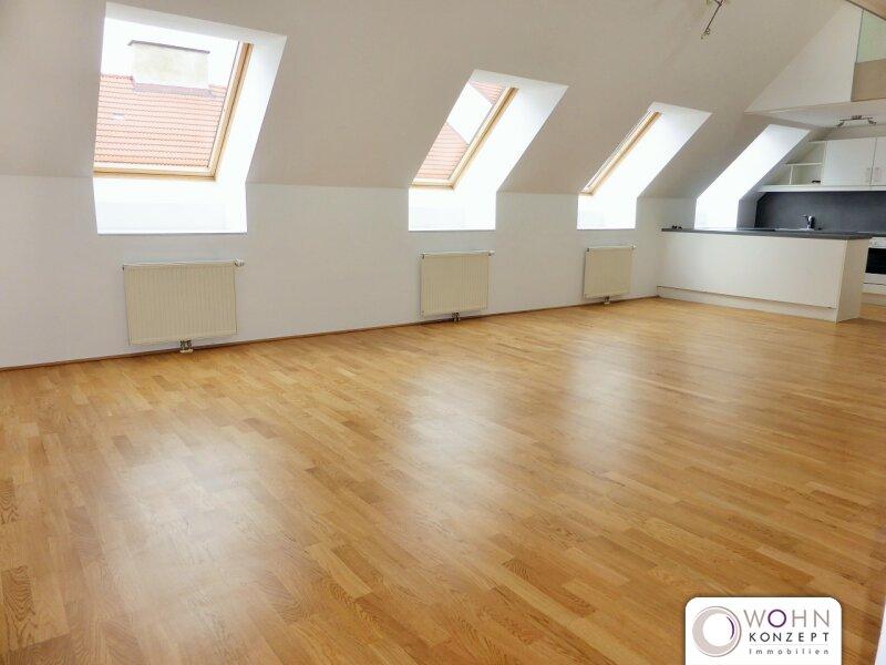 Ruhige 124m² DG-Wohnung + 2 Terrassen beim Naschmarkt - 1060 Wien