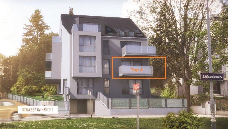 Provisionsfrei! Helle 3-Zimmerwohnung mit 2 großen Balkonen, Blick ins Grüne, Ruhelage