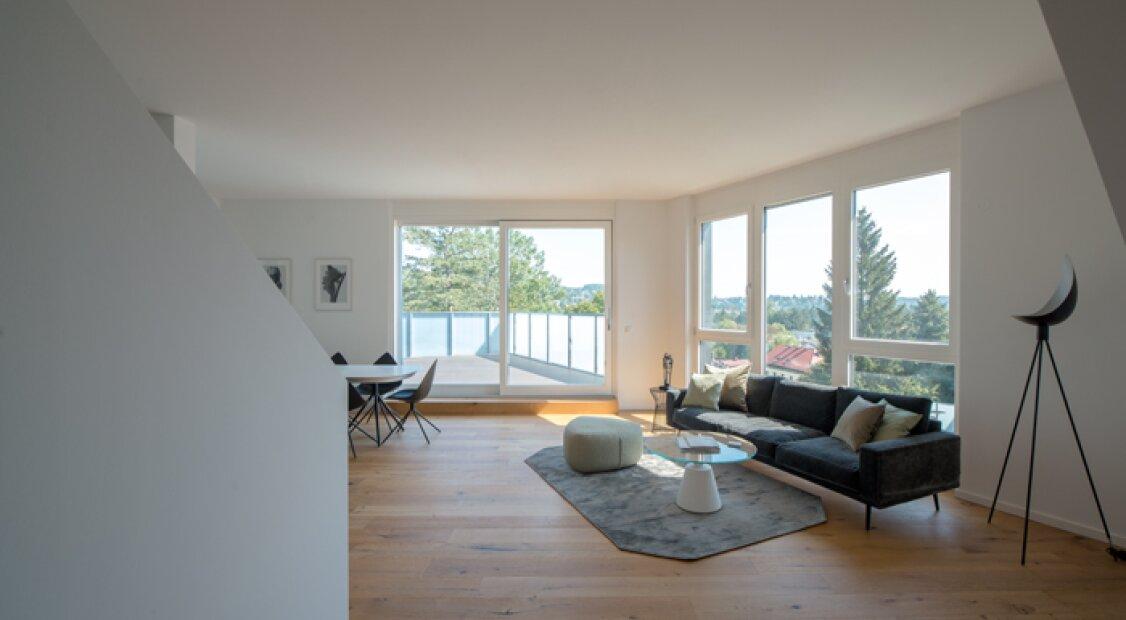 1140! Traumhafte DG Wohnung mit 2 Terrassen direkt am Wienerwald! ERSTBEZUG!
