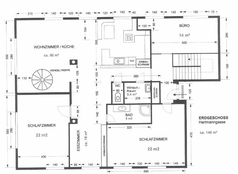 Einfamilienhausfeeling in einer Wohnung mitten in der Stadt /  / 1050Wien / Bild 3