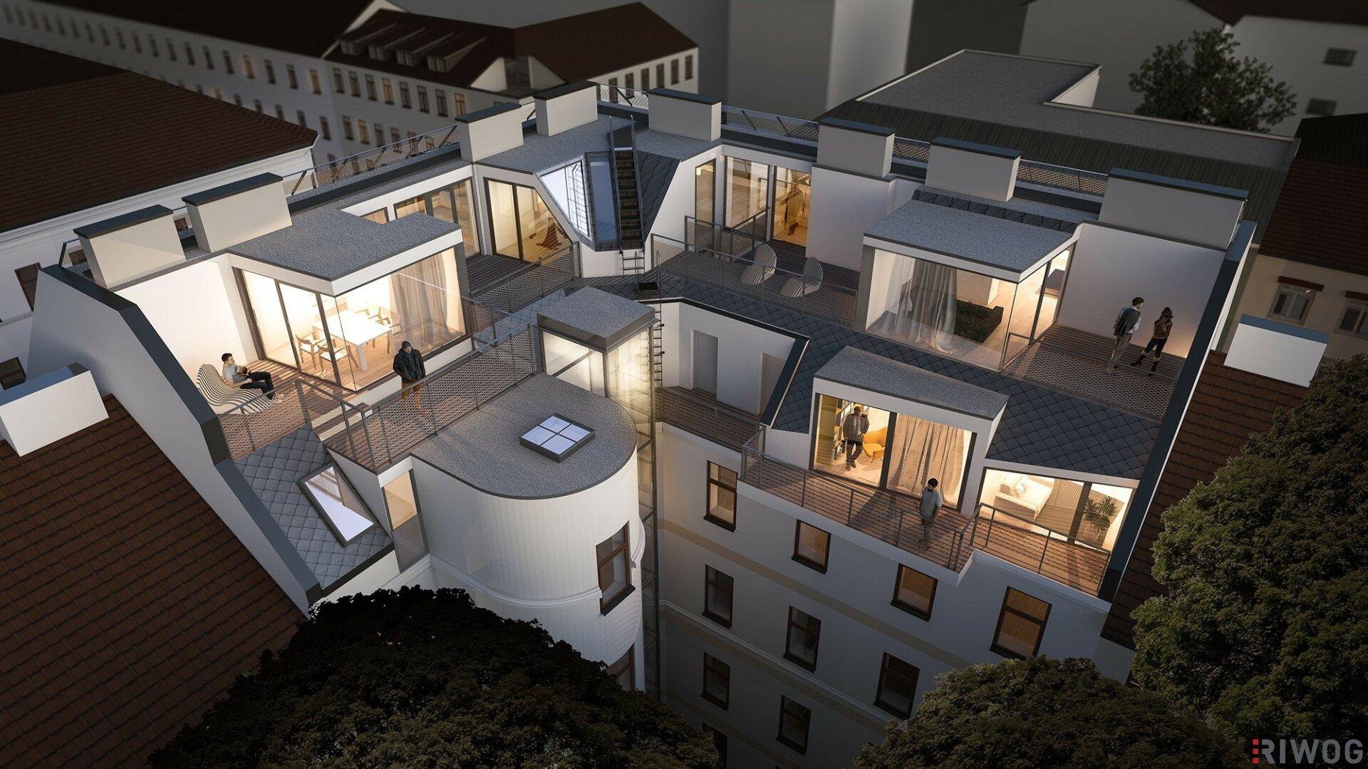 | SIXTY7 | exklusive Dachgeschoss-Wohnungen mit hochwertiger Ausstattung (Projektansicht)