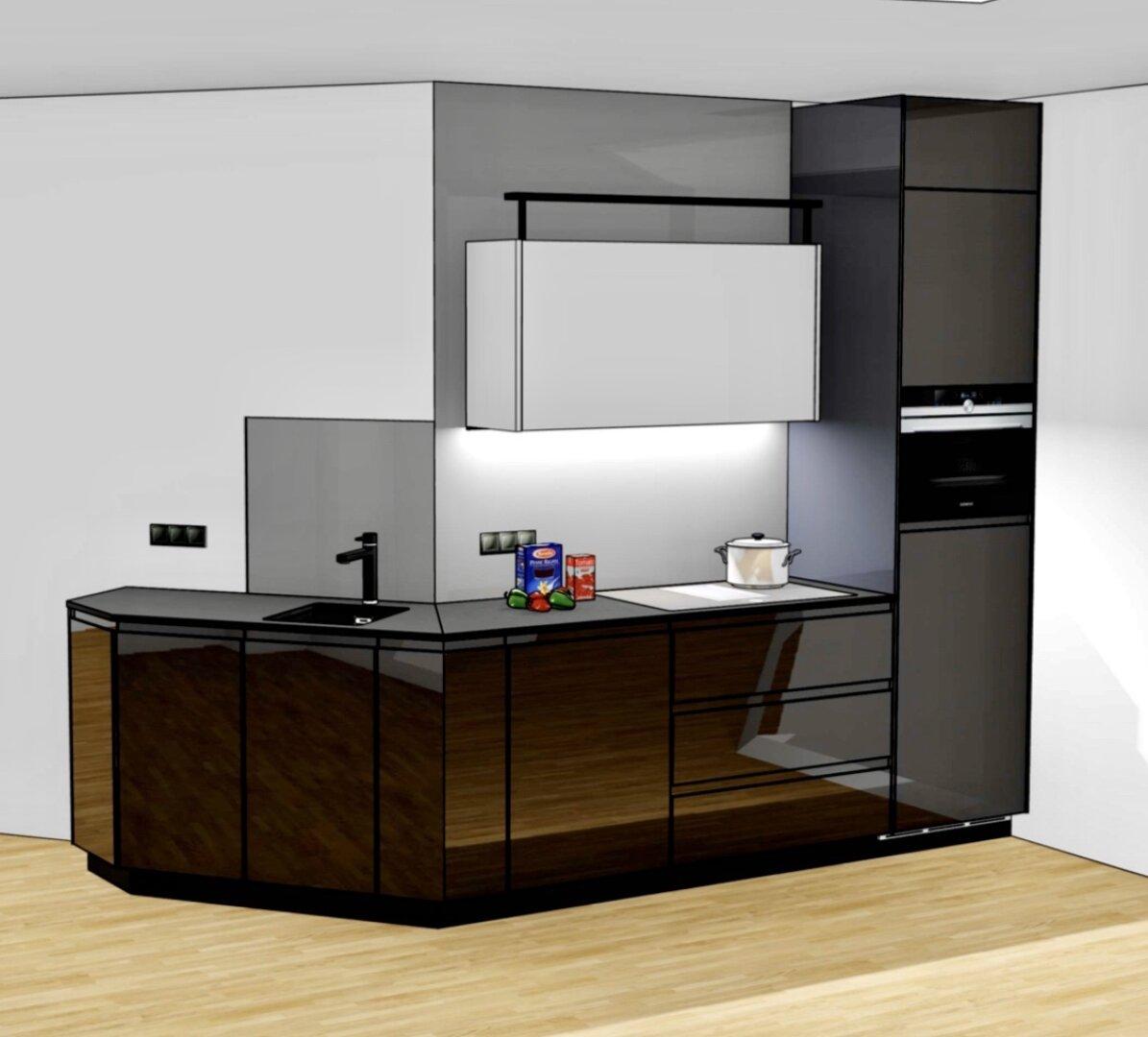 Küche_Rendering