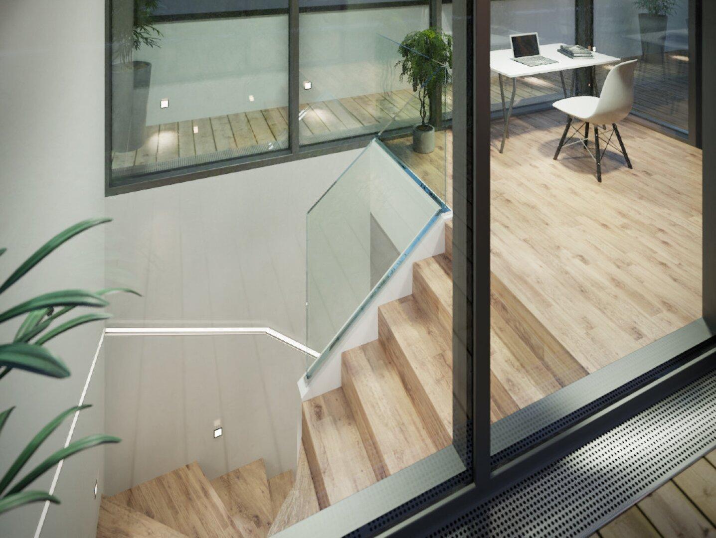 Symbolbild - Treppenaufgang - Einrichtungsvorschlag