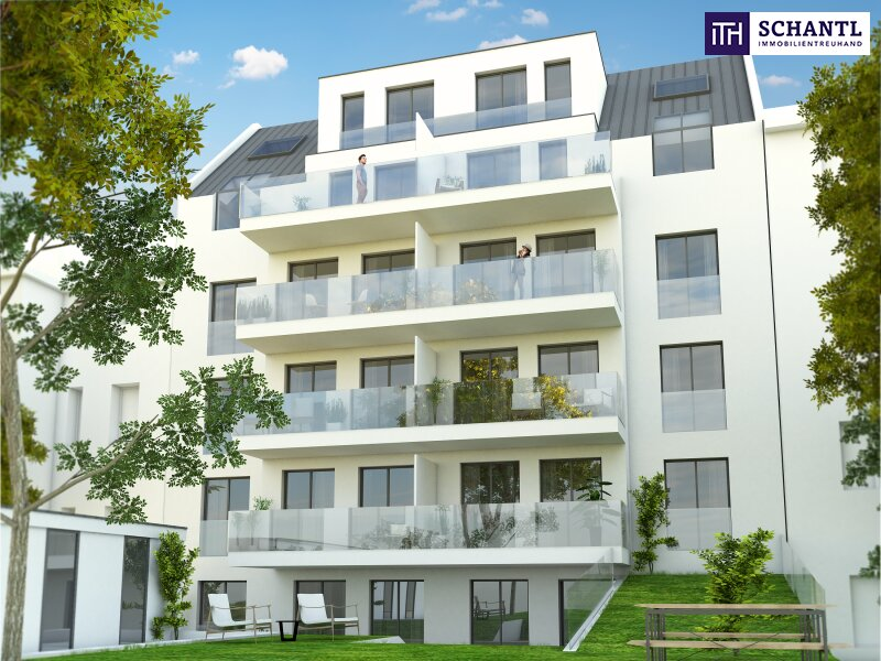 Lebensqualität pur! 2 Zimmer Wohnung mit großem hofseitigen Balkon! Ruhelage + TOP Neubau - Erstbezug! /  / 1210Wien / Bild 1