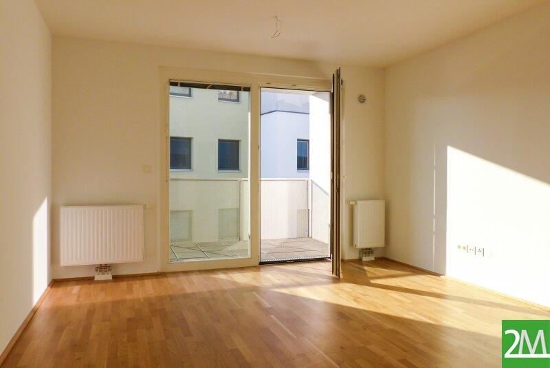 Helle 3-Zimmer-Neubauwohnung mit südseitigem Balkon