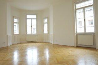 Klassische, großzügig geschnittene 3-Zimmer Altbauwohnung Nähe Marxergasse!