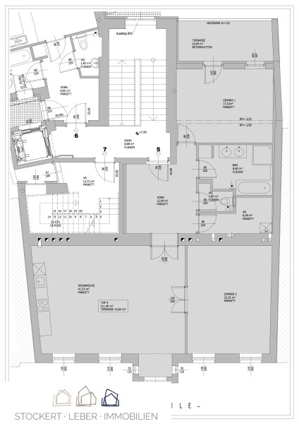 Sanierte 3-Zimmer-Mietwohnung in prominenter Lage /  / 1190Wien / Bild 7