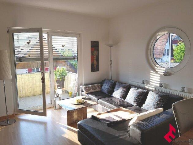 attraktive 2-Zi.-Wohnung mit Balkon