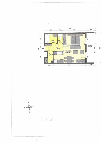 Sehr gemütiche 2-Zimmer Wohnung mit Loggia zum verkaufen /  / 1100Wien / Bild 9