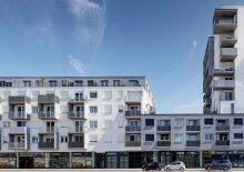 2-Zimmer-Wohnung Neubau inkl Komplettküche, Loggia und Kellerabteil /E1-32 3.OG, 1-32