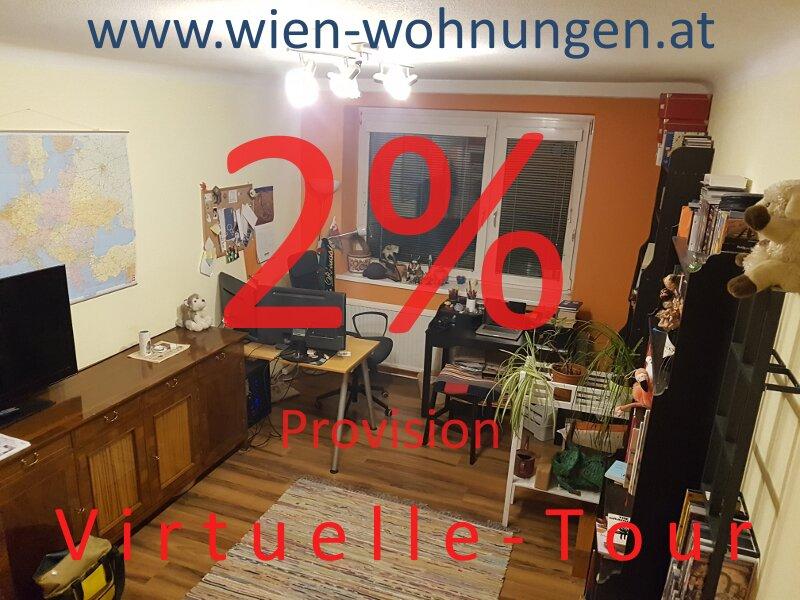 2% Provision - günstige Zwei-Zimmer-Wohnung
