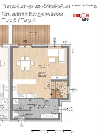 VERKAUFT !!! - Schicke Doppelhäuser in ruhiger Siedlung in Langenlebarn